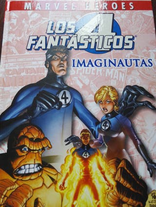 los cuatro fantasticos marvel heroes imaginautas