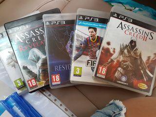vendo pack juegos ps3 por 35 €