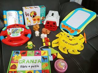 Lote juguetes niños todo correcto