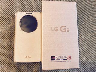 Móvil LG G3 y carcasa