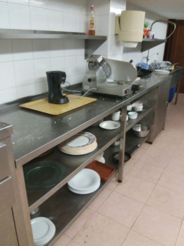 Mesa trabajo cocina restaurante de segunda mano por 200 € en La ...