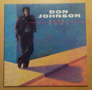 LP vinilo de Don Johnson. Heart Breat