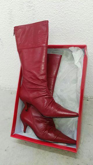 botas piel n°36