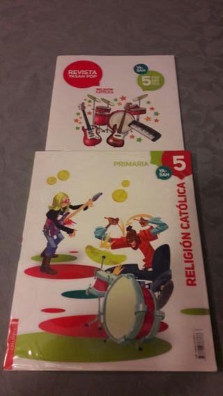 libro religion 5 primaria