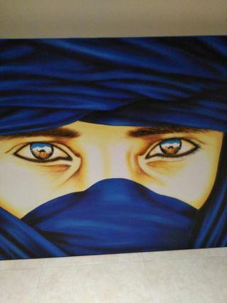 lienzo tuareg
