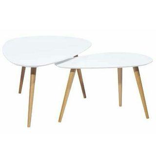 155€ las 2 mesas ovaladas últimas