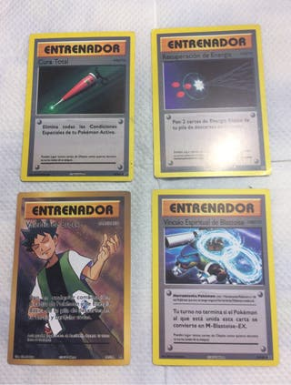 Cartas pokemon entrenador