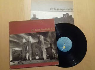 LP vinilo de U2. The Unforgettable Fire