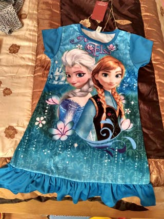 Sin estrenar Vestido verano Frozen 6/7 años