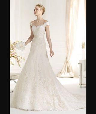vestido de novia talla 46 de segunda mano en la provincia de málaga