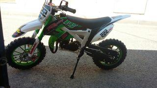 moto cross niño