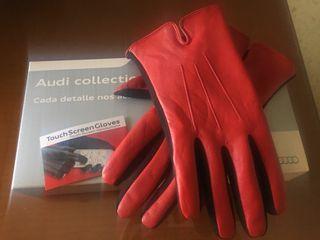 guantes mujer Audi