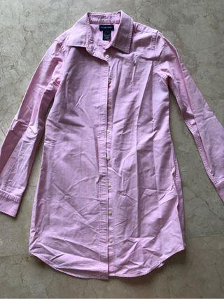 Camisa/vestido ralph lauren