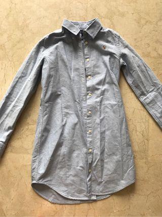 Vestido camisa ralph lauren