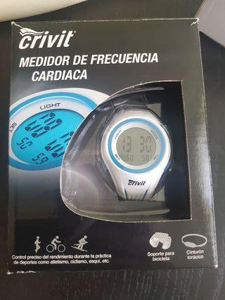 Medidor frecuencia cardíaca con banda torácica