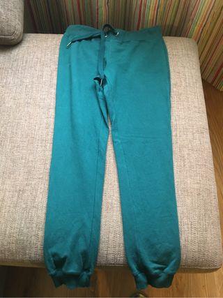 Pantalon chandal verde