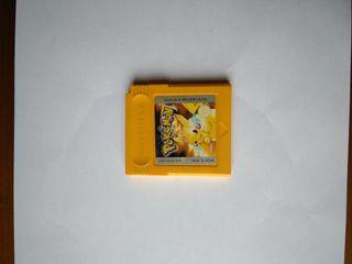 Juego game boy pokemon amarillo