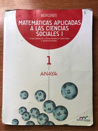 Libro matematicas/ 1 Bach