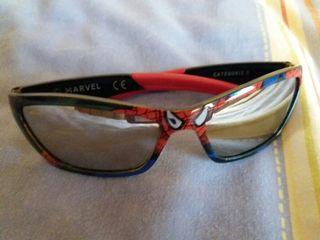 gafas de niño de spider man