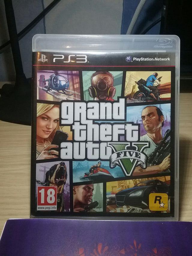 Videojuego GTA V (PS3)