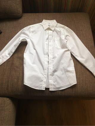 Camisa blanca talla 146cm