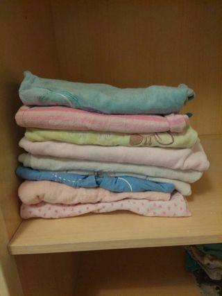 Lote pijamas de terciopelo