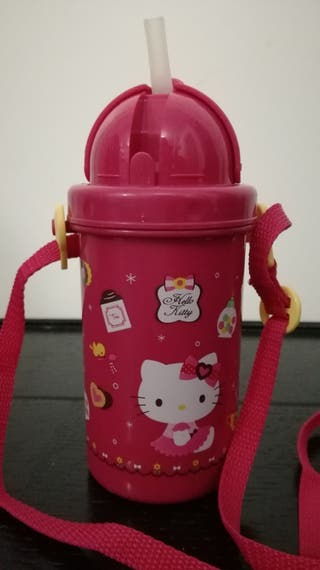 Juguetes: Cantimplora infantil Hello Kitty