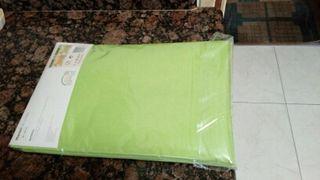mantel verde pistacho sin estrenar