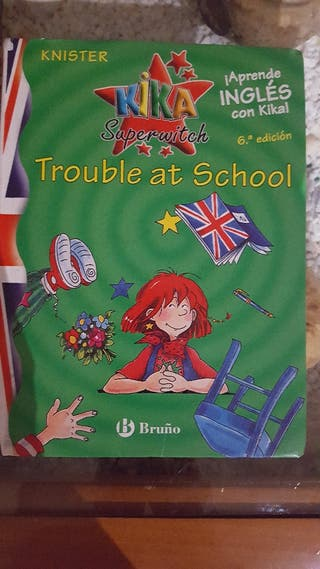 Libro Trouble at School