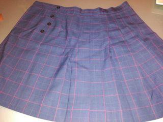 falda colegio malvar