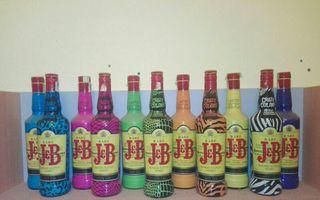 coleccion botellas jb