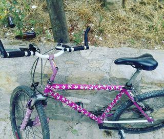 """vendo bicicleta de montaña la """"""""marihuanera """""""