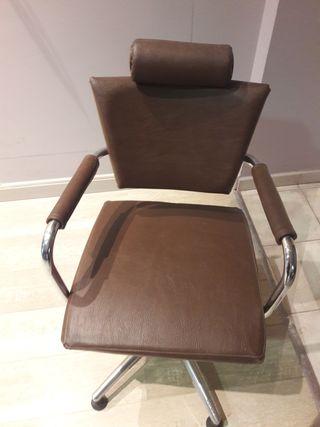 silla hidraulica de peluqueria