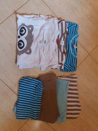 Lote 4 pijamas niñ@ H.M. talla 80cm