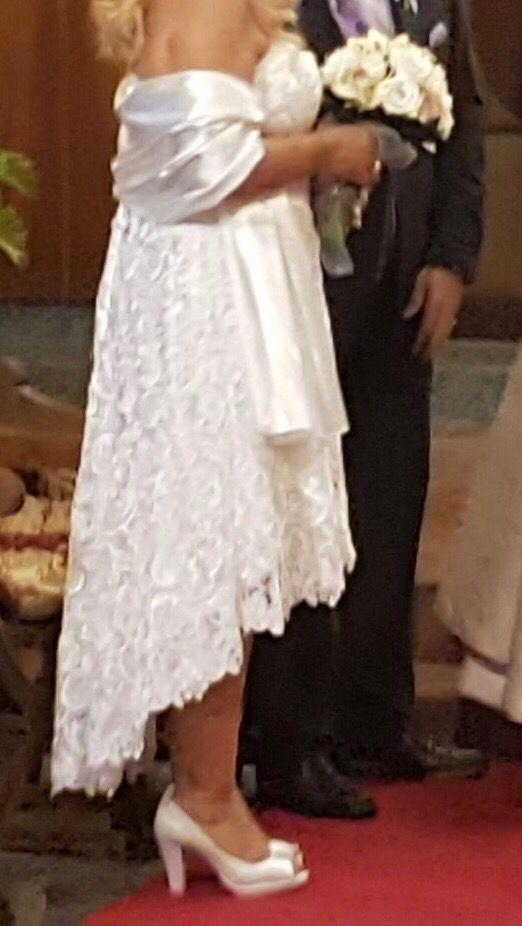 vestido de novia talla 42 de segunda mano por 100 € en sant vicenç