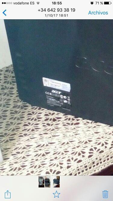 vendo bonito tore de mesa Acer M6610g M6series