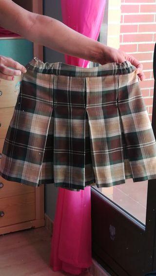falda colegio