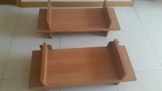 Estanterias madera ,medidas ,70x28