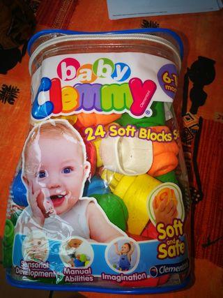 bloques suaves bebe de 6- 18 meses