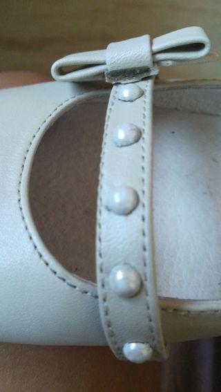 zapatos de comunión con medias de regalo