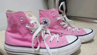 Zapatillas Converse All Star rosas