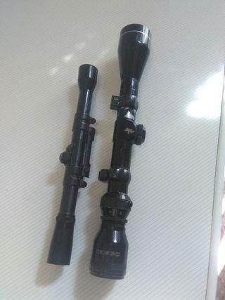 visor gamo para rifle perdigones y tasco 1,5,6x40