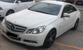Mercedes-benz Clase E coupe 2011