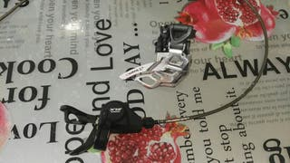mando y desviador de bici