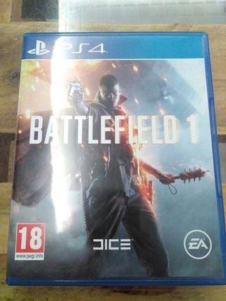 Videojuego Battlefield 1