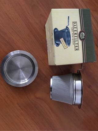 Filtro té acero