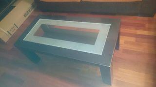 mesa de centro color benge