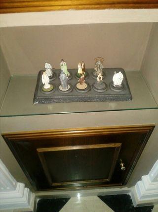 colección figuras de plomo del señor de los anillo