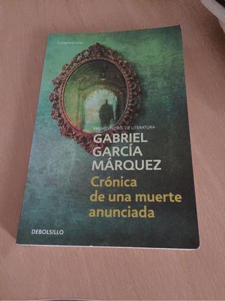 Libro Cronica de una muerte an