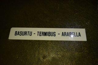 carteles letreros